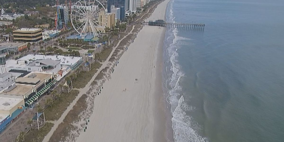 Social distancing citations low on Grand Strand beaches over the weekend