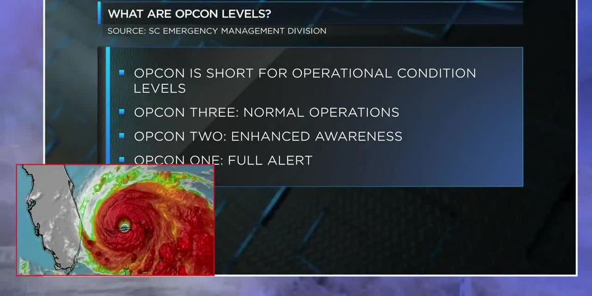 Myrtle Beach, Conway, NMB and Horry County move to OPCON 2 ahead of Hurricane Dorian