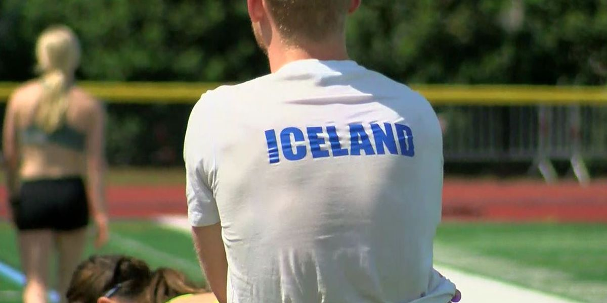 Olympians from Iceland training in Myrtle Beach