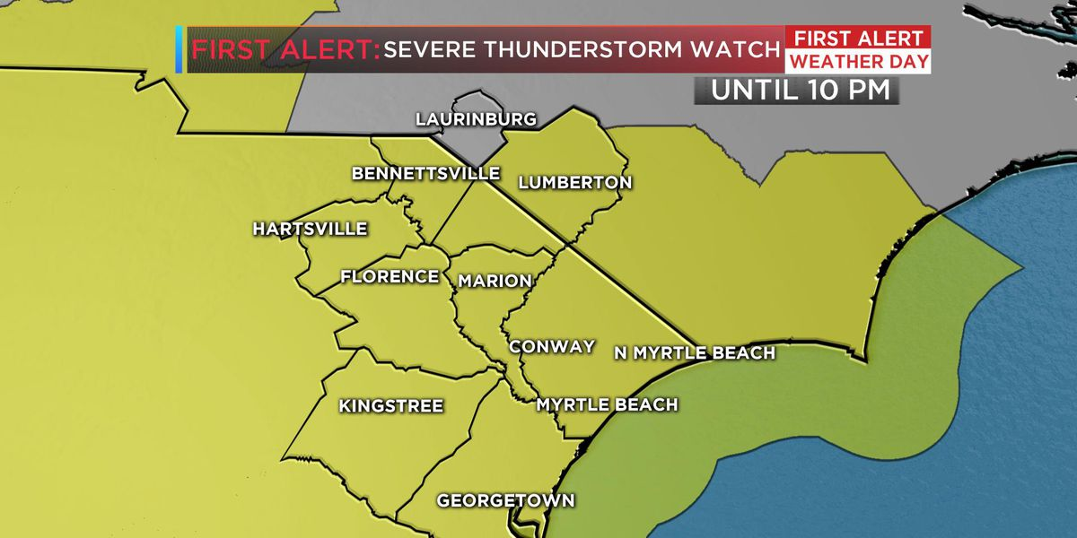 FIRST ALERT WEATHER DAY: Severe storms will rapidly develop through the evening
