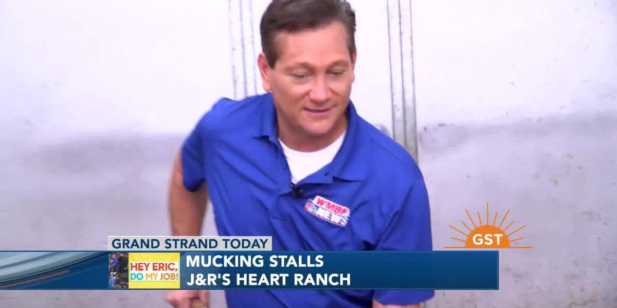 Hey Eric, Do My Job: Mucking Stalls