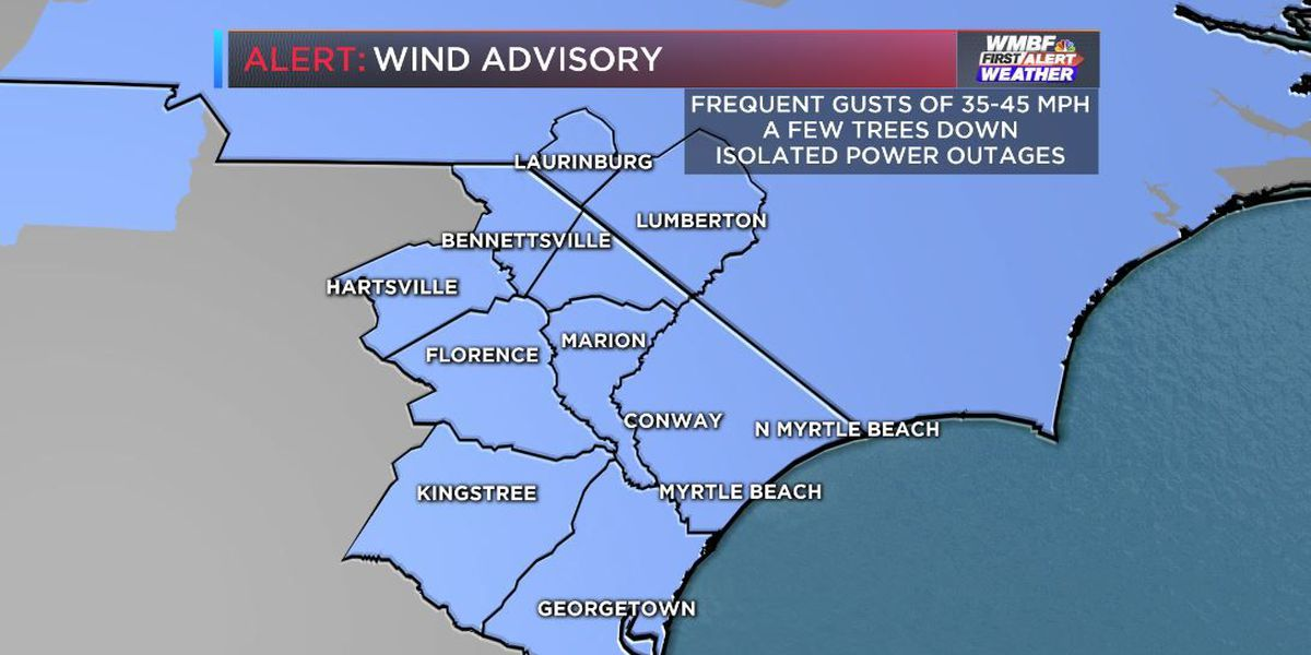 FIRST ALERT: Very strong winds Friday