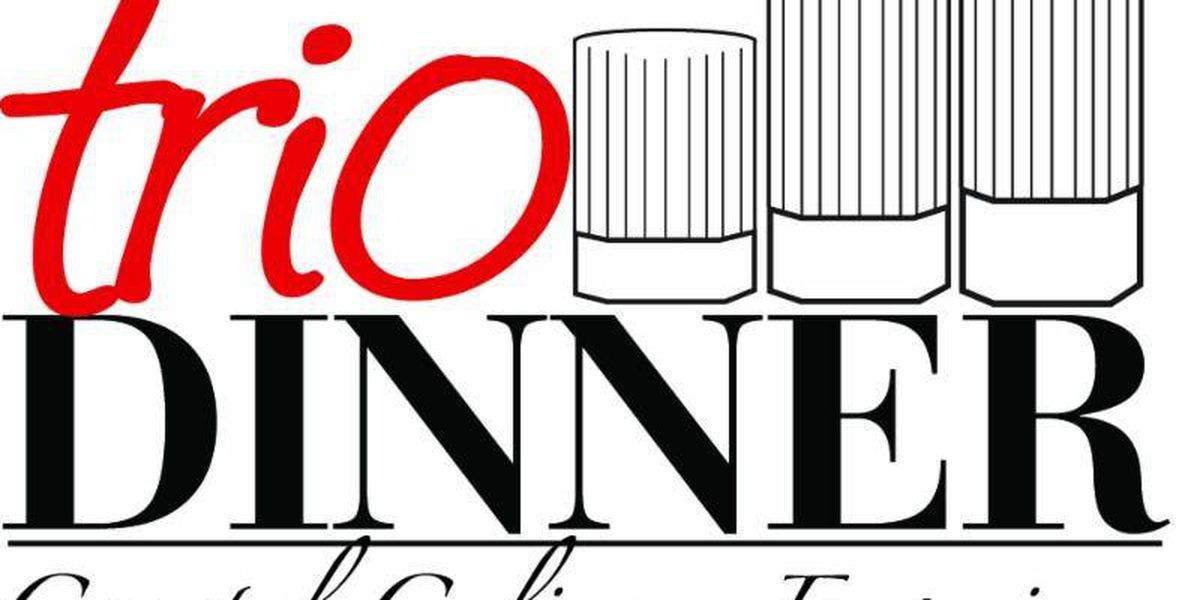 Tickets on sale for 12th annual Trio Dinner