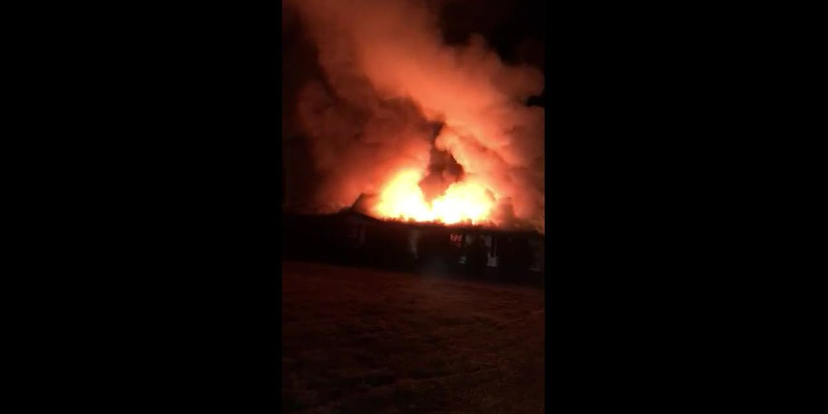 RAW: Deadly house fire in Florence County