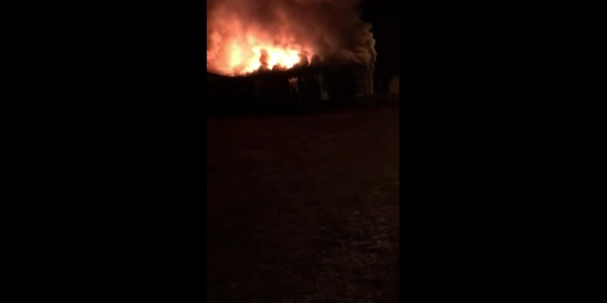 RAW: Deadly house fire in Florence County - clip for Facebook