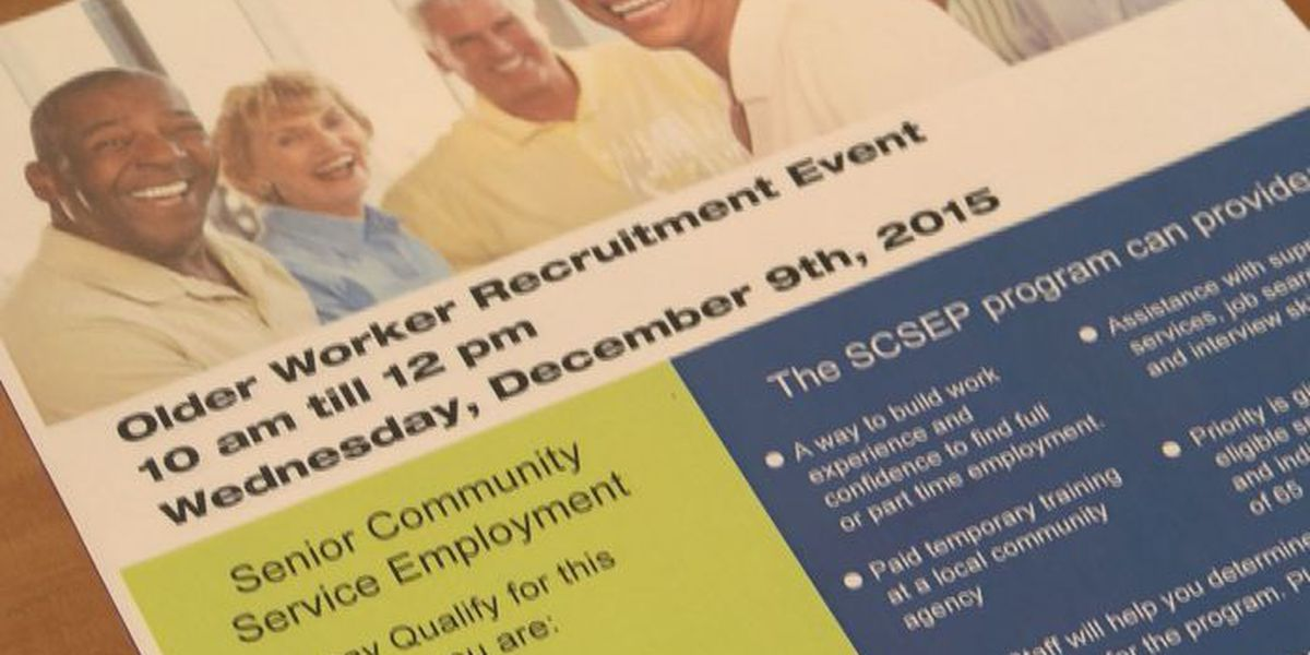 Goodwill hosts job fair to help older workers find employment