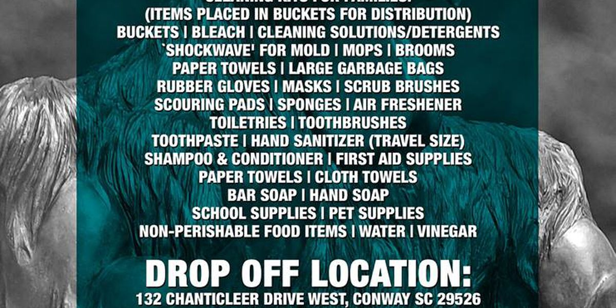 CCU accepting donations for Hurricane Harvey victims
