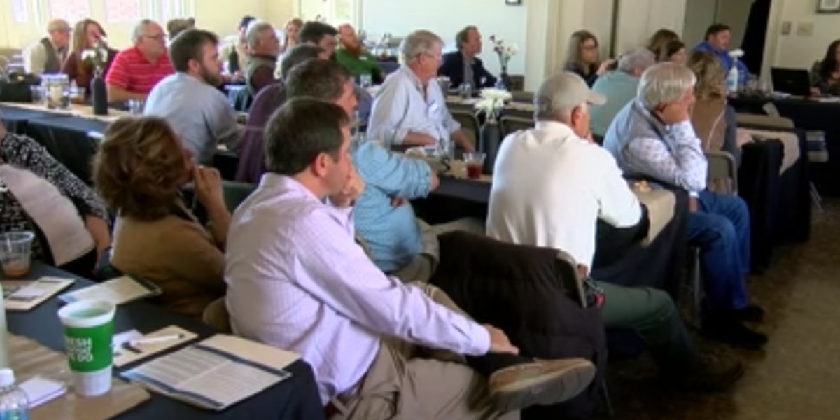 Farmers learn more about benefits of growing industrial hemp as bill heads to state house