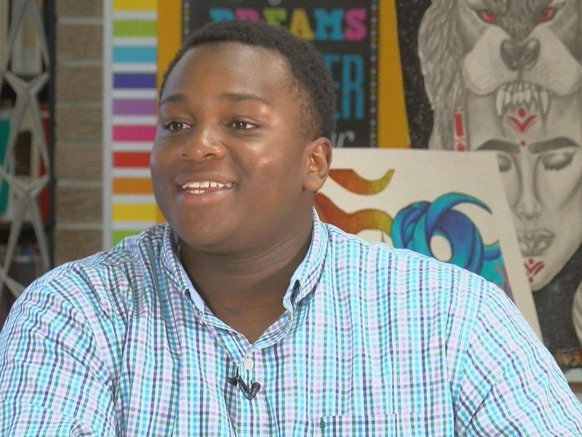 Student Spotlight: Junior firefighter of the year, aspiring politician