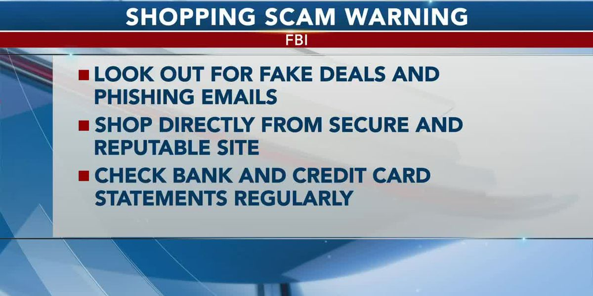 FBI advises online holiday shoppers to keep an eye out for scammers