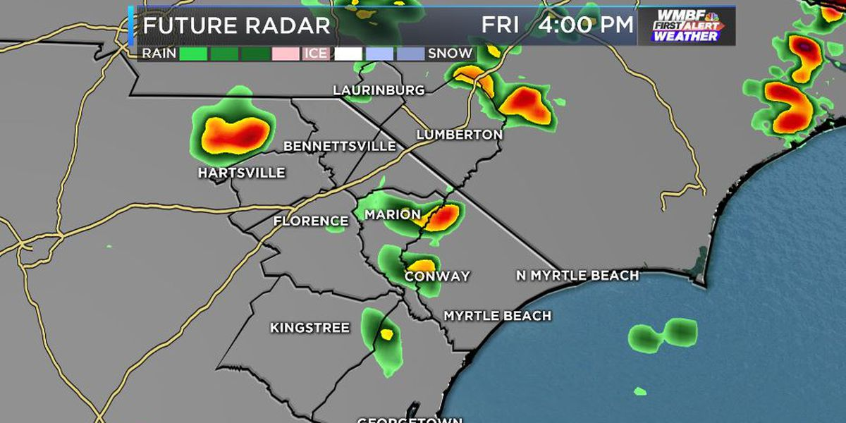FIRST ALERT: Hit or miss showers, storms today