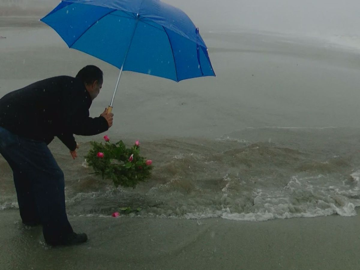 Sandy Hook victim's father remembers daughter in Surfside Beach