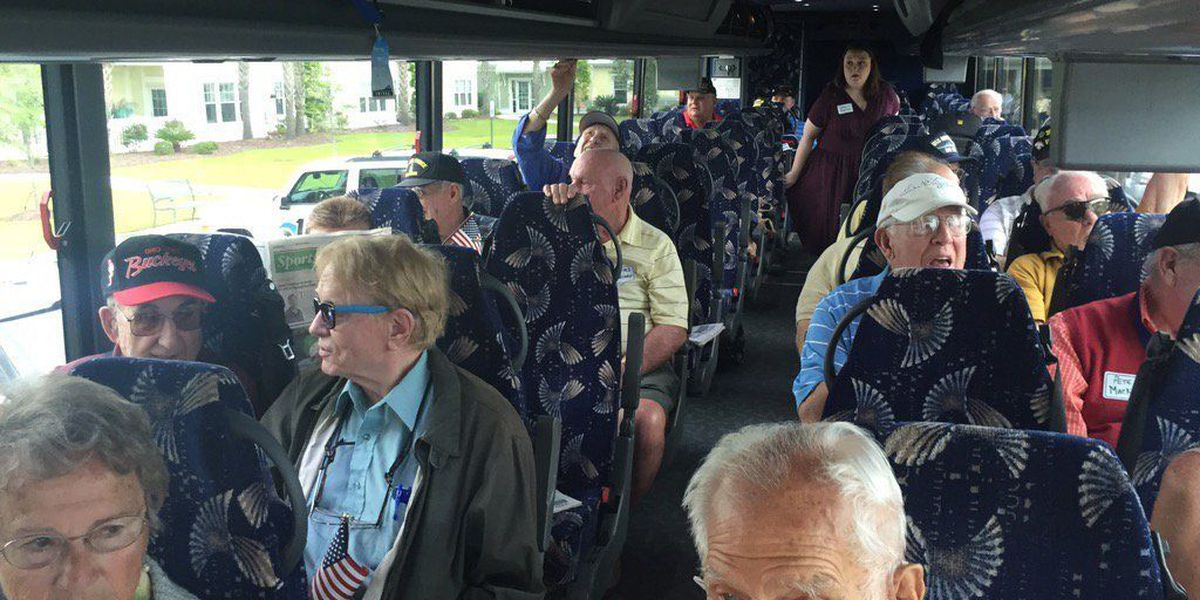 19 Grand Strand vets taking Honor Flight to D.C.