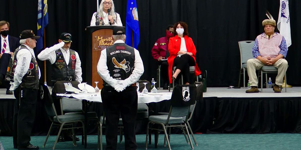 Rolling Thunder in Myrtle Beach sets table to honor soldiers who never made it home