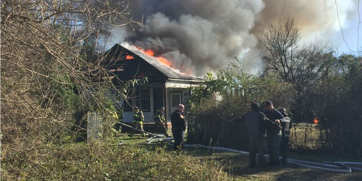 Roads in Florence close as fire tears through home Tuesday afternoon