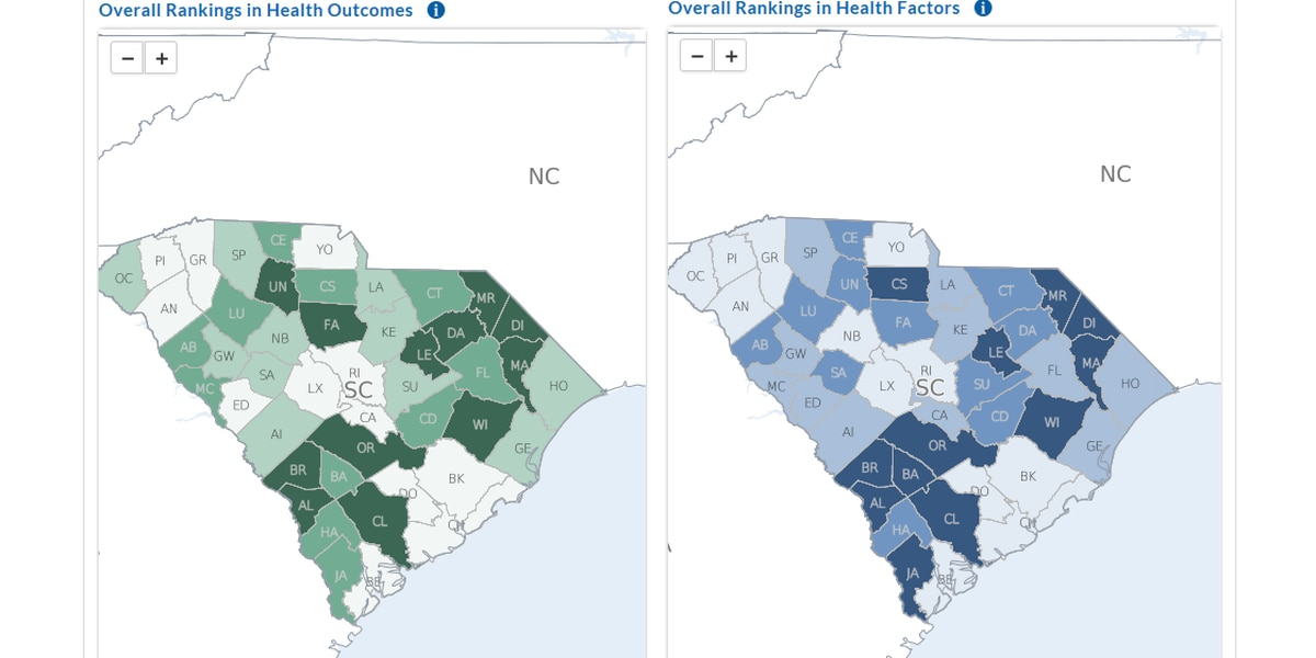 National survey shows needed health improvements in SC