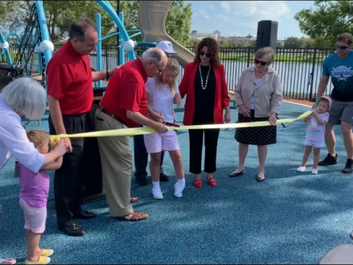 Savannah, city leaders celebrate Phase Two of Savannah's Playground