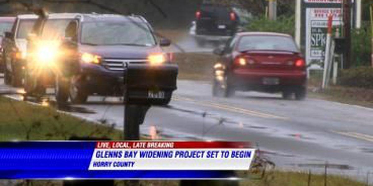 Glenns Bay Road construction set to start
