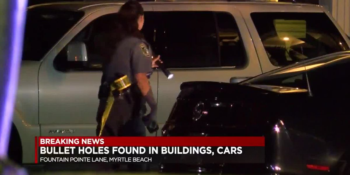 HCPD: Multiple vehicles, buildings hit by bullets at Horry County apartment complex