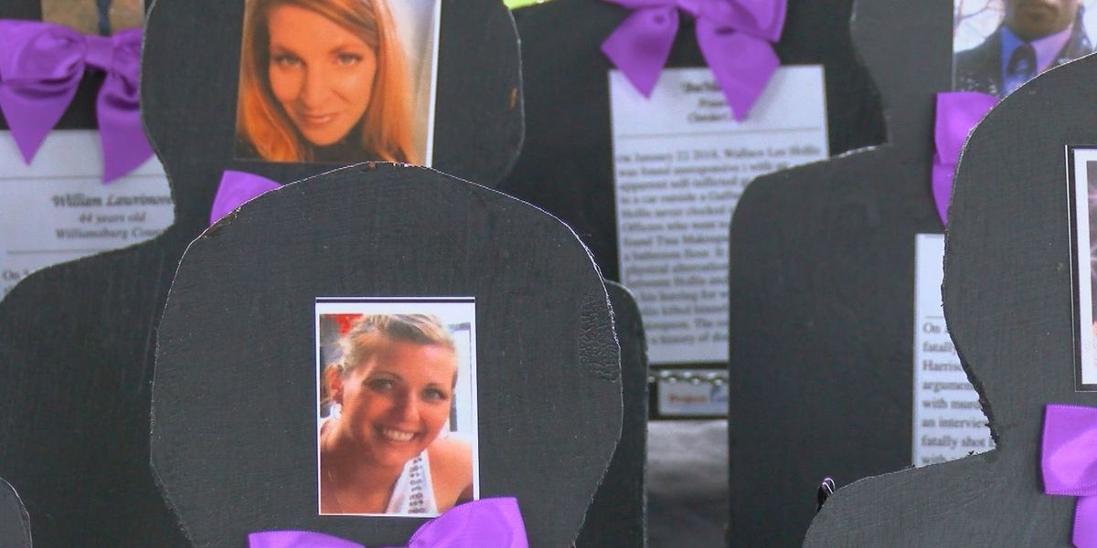 Group rallies to honor 41 people killed in S.C. in 2018 from domestic violence