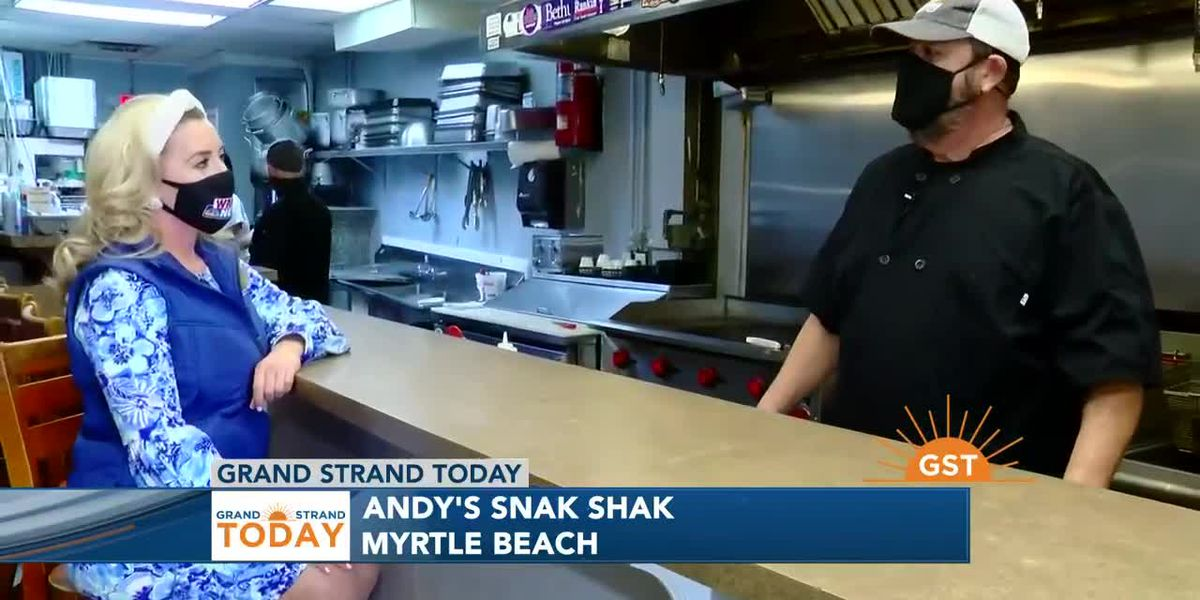 Andy's Snak Shak in Myrtle Beach is a local favorite