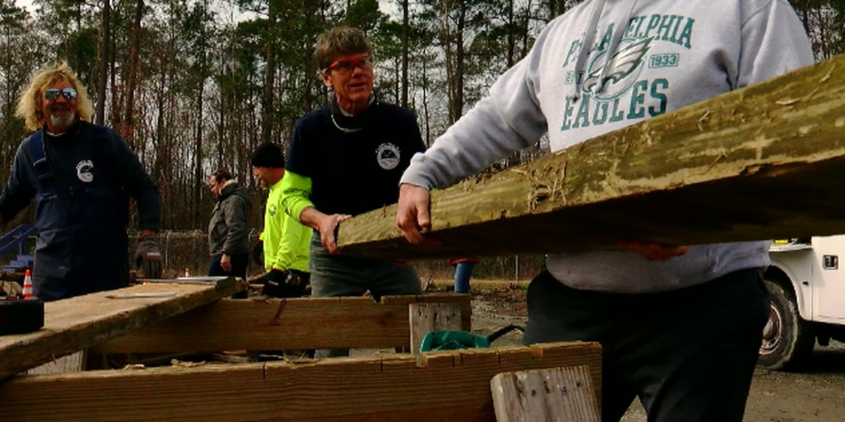 This Is Carolina: Old Surfside Beach Pier wood finding new purpose in the community