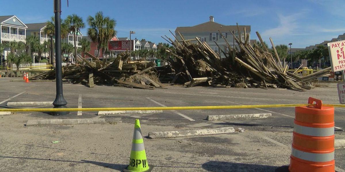 Surfside Beach works to find how to rebuild pier lost to Hurricane Matthew