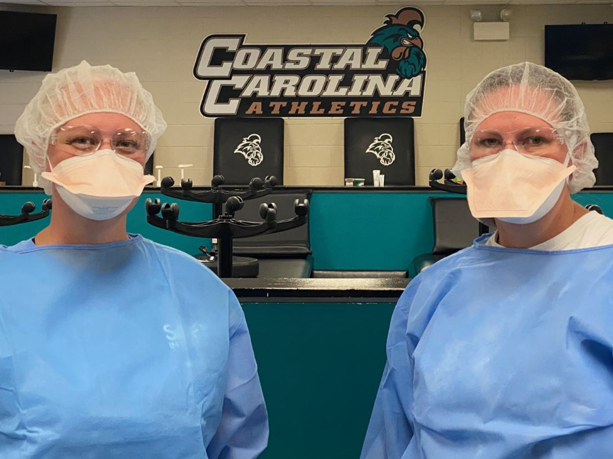Tidelands Health, CCU team up to offer free COVID-19 testing to student athletes, athletic staff