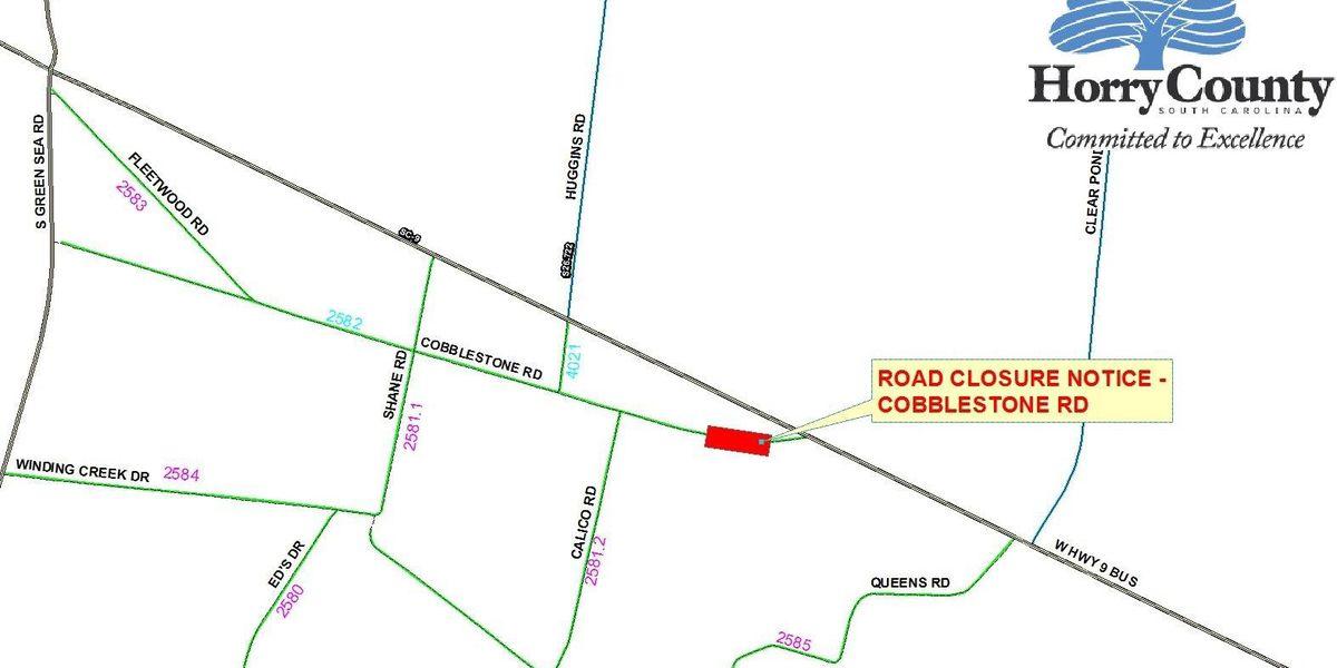 Cobblestone Road to be temporarily close for bridge improvements