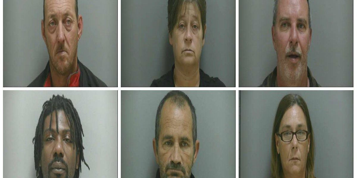 DCSO arrests six for stealing $180K in heavy construction equipment