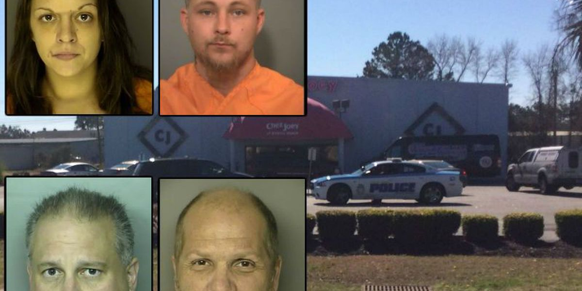 Horry County grand jury indicts four accused of sex acts with two 4-year-old children