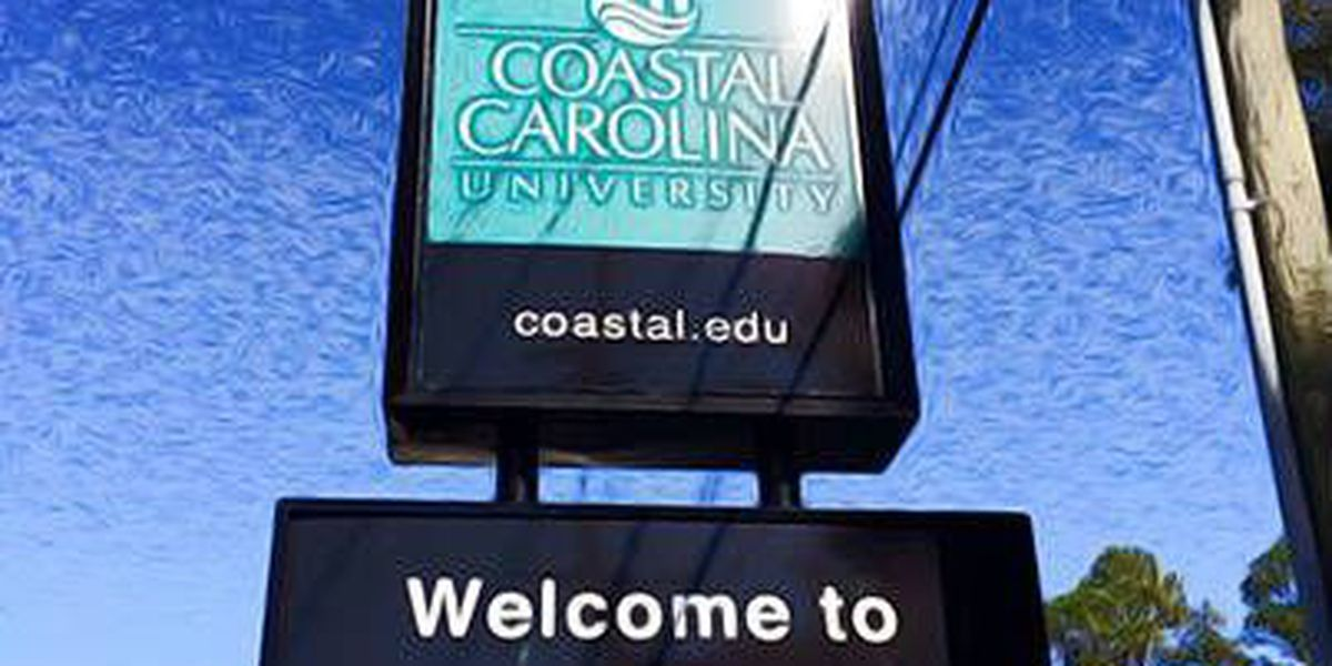 CCU 'Welcome to #TEALnation' sign recovered