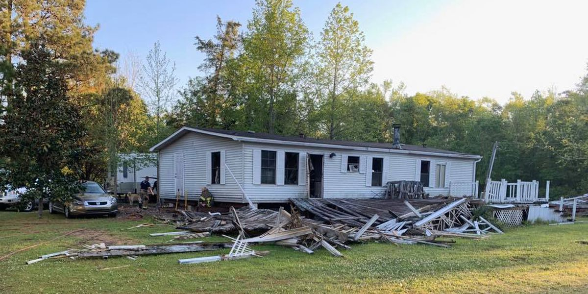 No injuries reported in Longs mobile home fire
