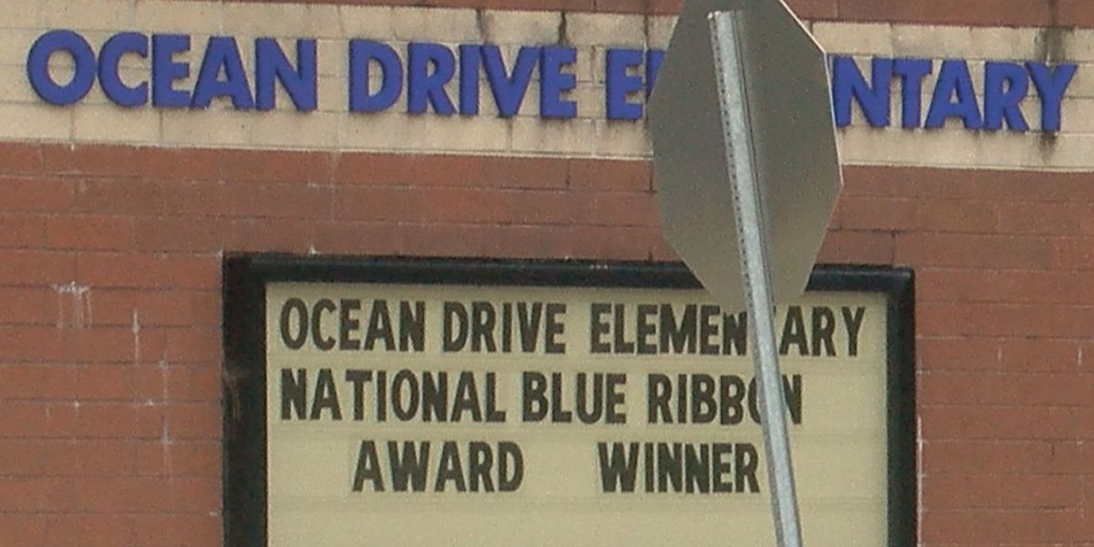 'You just keep growing': Ocean Drive Elementary celebrates National Blue Ribbon recognition