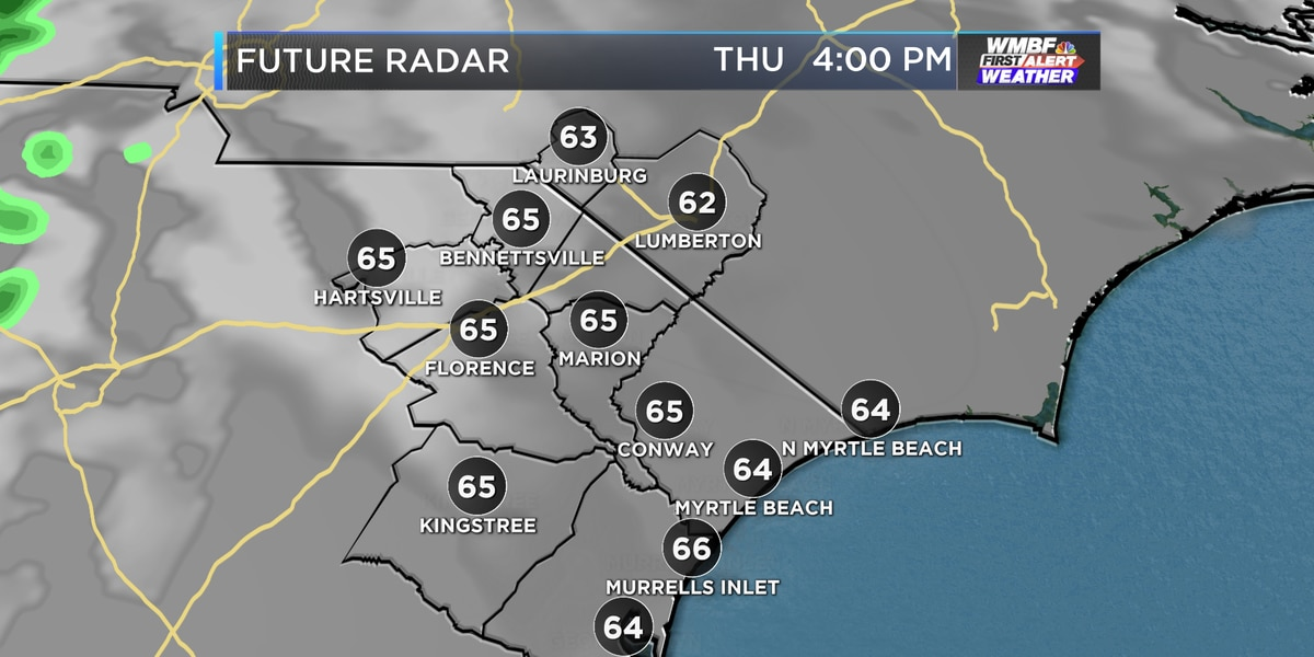 Clearing skies, warmer weather into the weekend