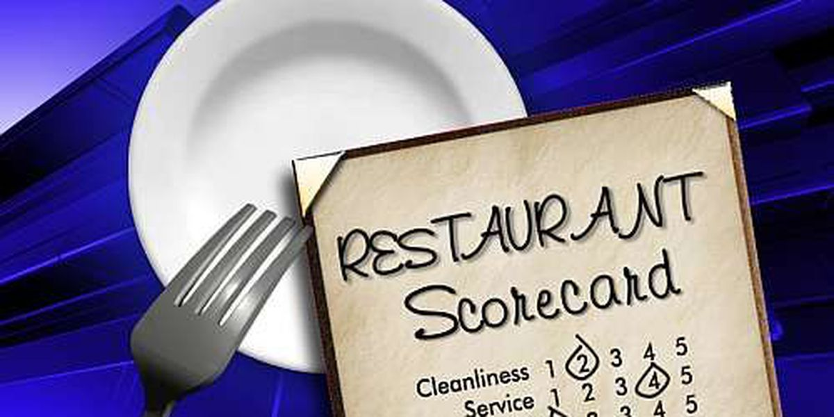 Dead roaches and droppings show up on this week's Restaurant Scorecard