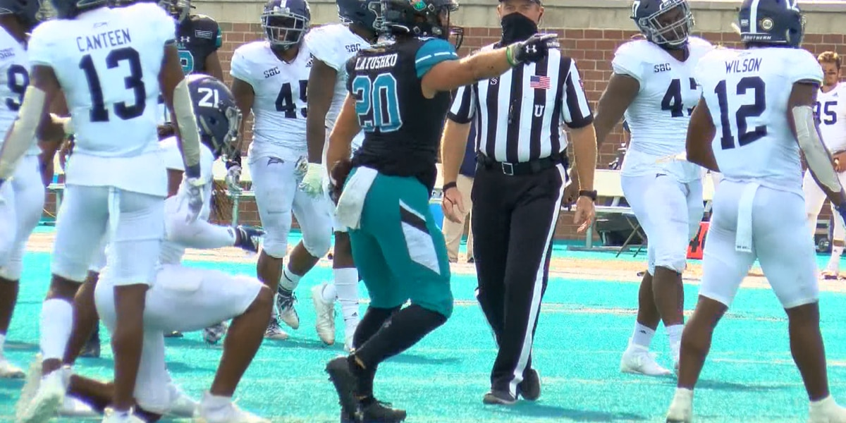 CCU ranked No. 20 in first CFB Playoff Poll of 2020 season