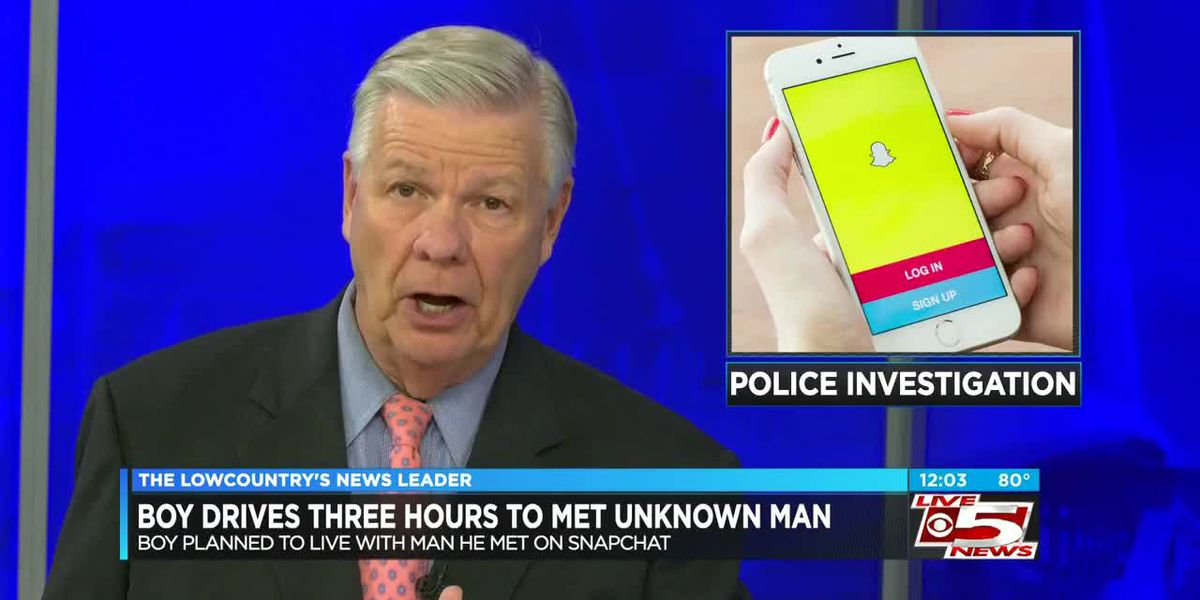 VIDEO: 11-year-old SC boy drove 3 hours alone to try and live with man he met on Snapchat, police say