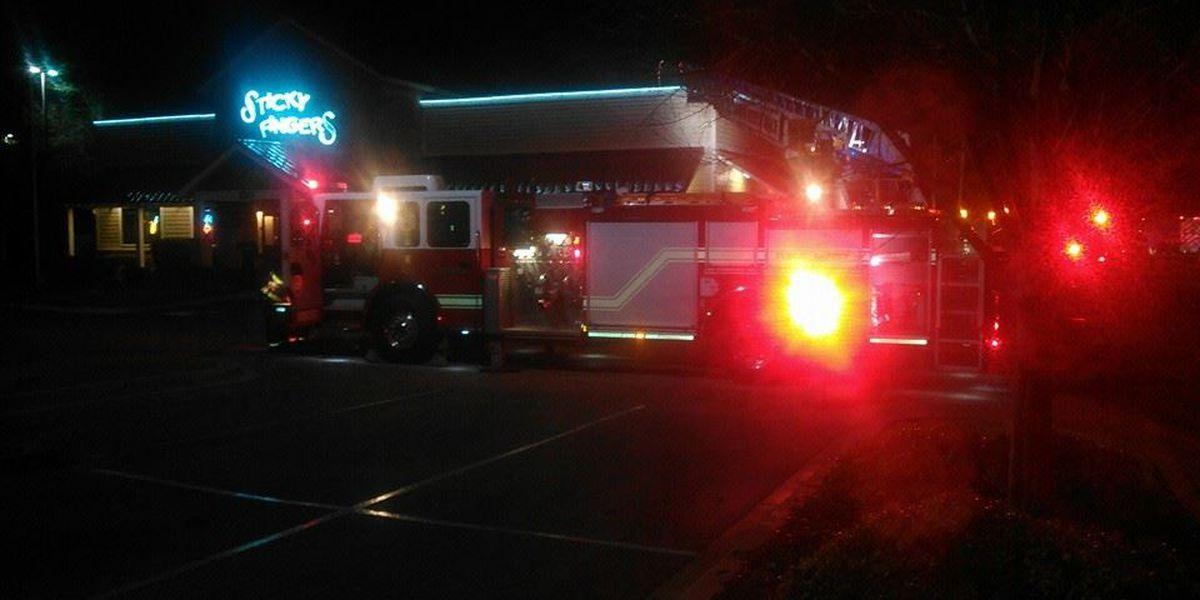 North Myrtle Beach firefighters battle restaurant fire