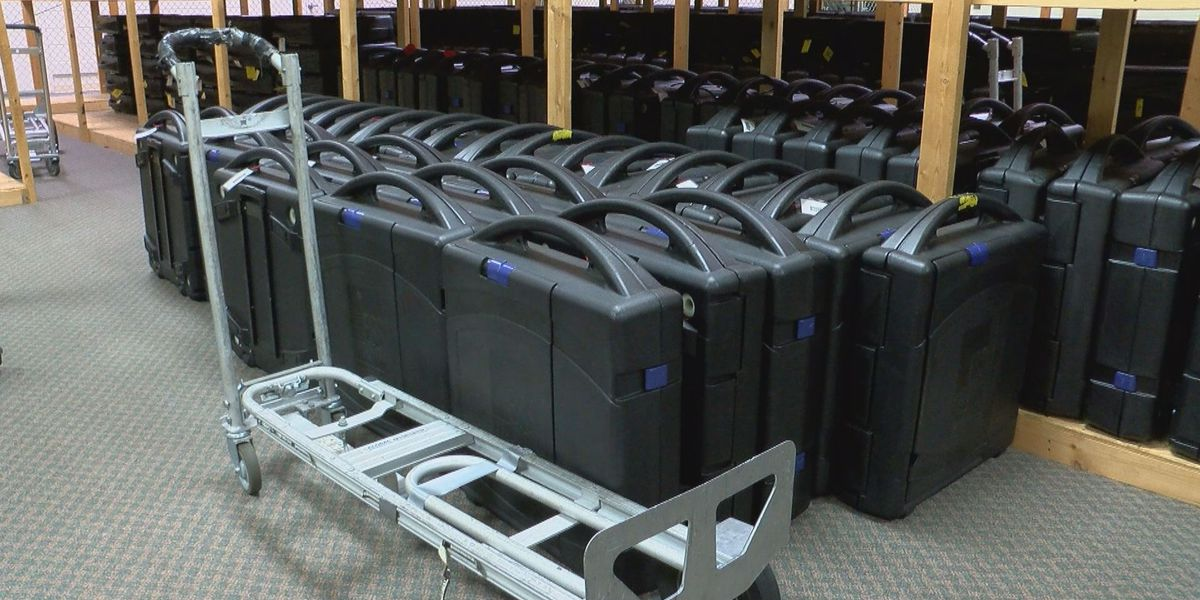 Horry County prepares to receive new voting machines