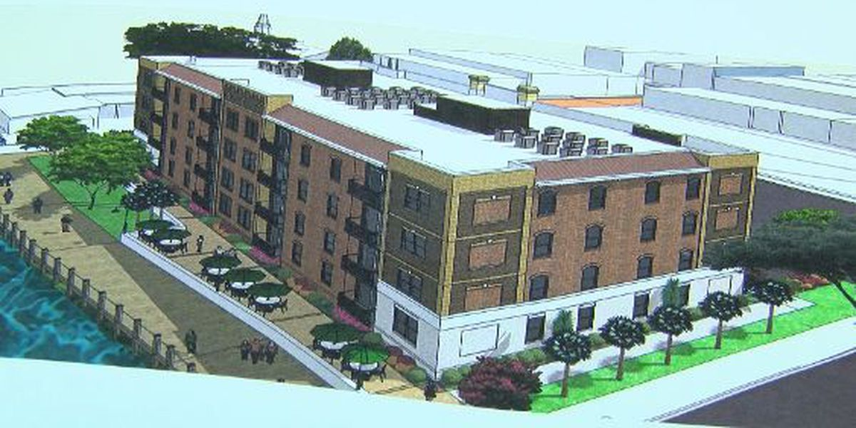 Initial plans pass for new riverfront apartments in Conway