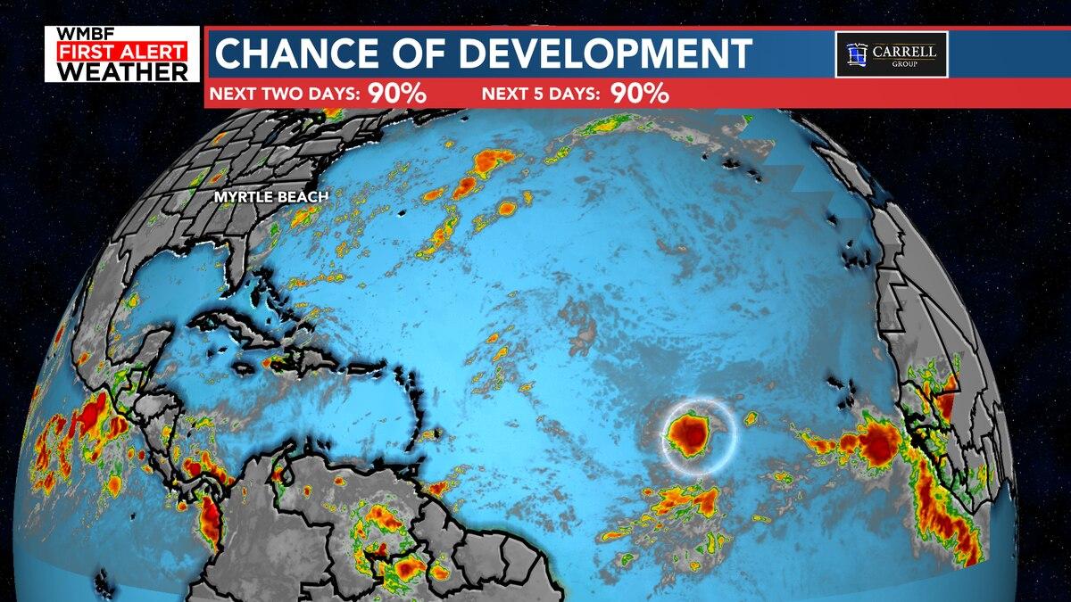 FIRST ALERT: High chance of development in the tropics