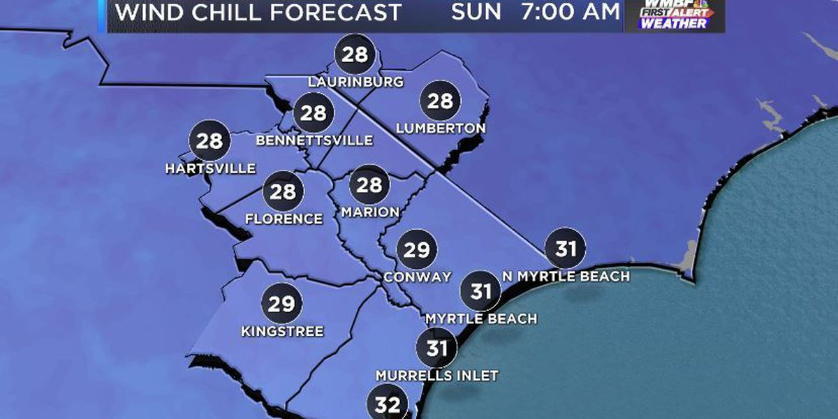 FIRST ALERT: Windy, chilly and possibly frosty mornings ahead
