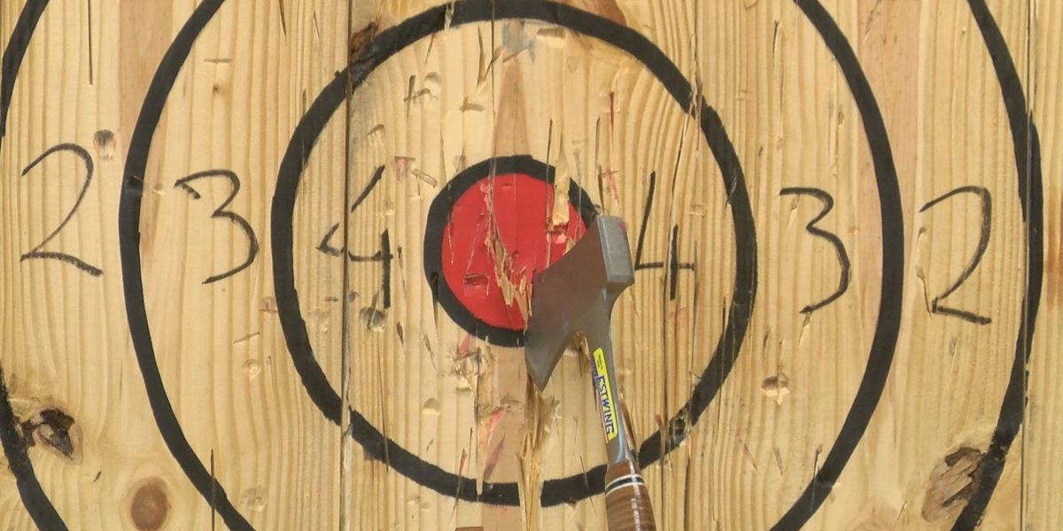 First and only axe-throwing facility in the Grand Strand now open