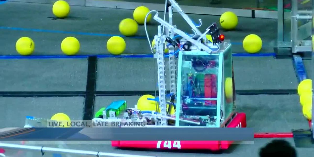 Hundreds of STEM students invade Myrtle Beach for 'Star Wars' themed robotics tournament