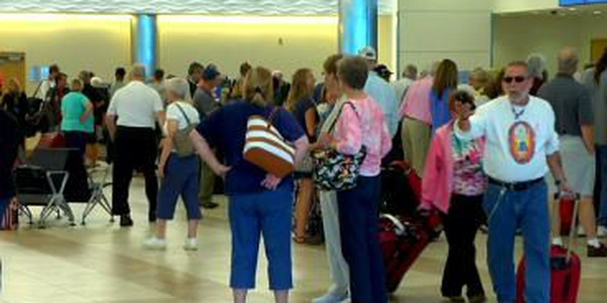 Travelers at Myrtle Beach Airport concerned about Ebola threat