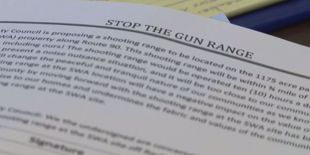 People sign petition opposing possible Horry County gun range near Highway 90