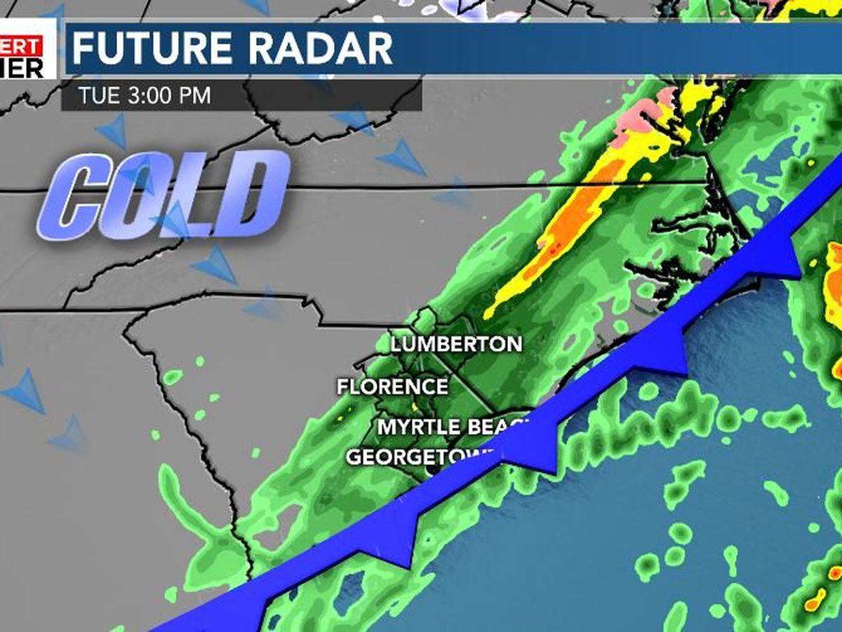 FIRST ALERT: Wild weather swings on the way Tuesday