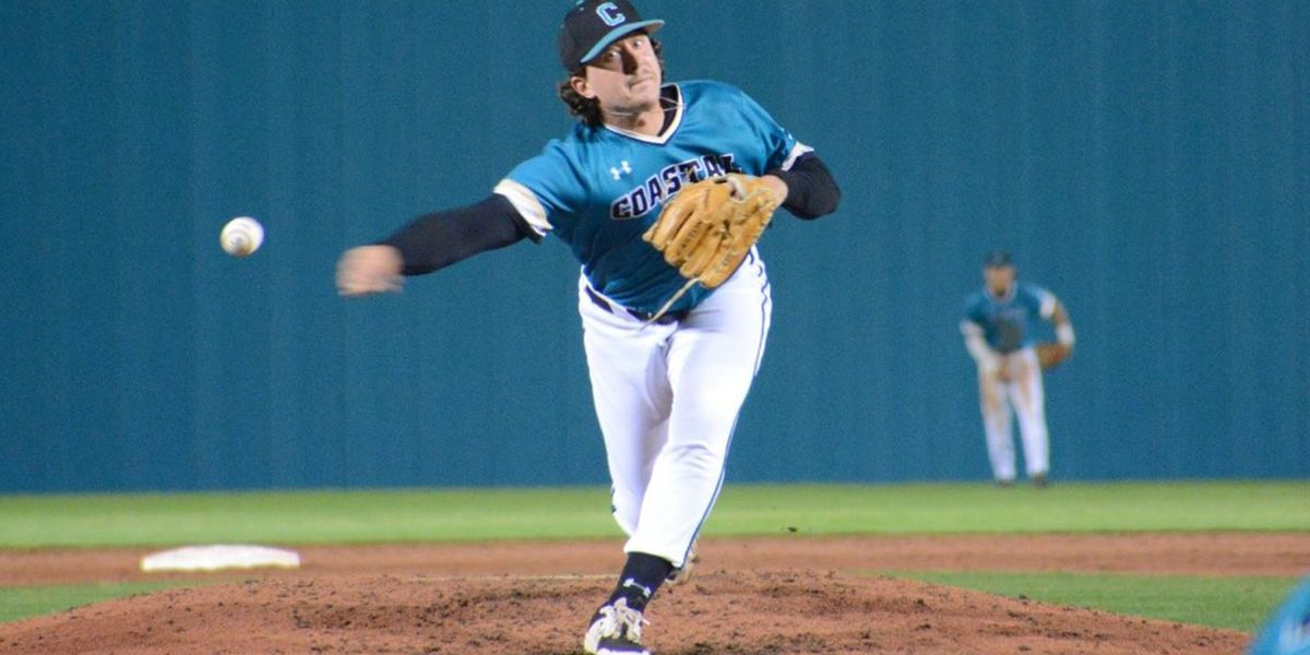 Abney records career-high nine strikeouts in CCU's 2-1 loss to Georgia State