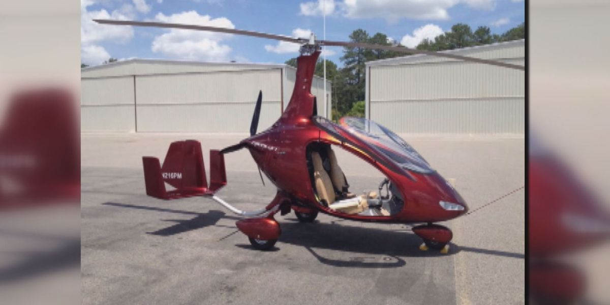 Police plan to use gyrocopter to patrol Myrtle Beach streets